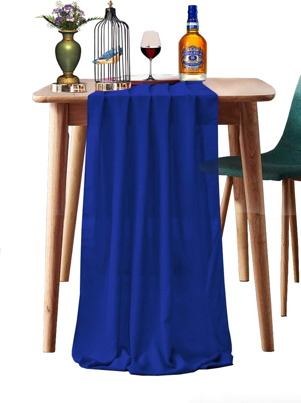 mds Pack of 5 Max 89% OFF Wedding Department store 27 x 120 Table Runner Wed inch for Chiffon