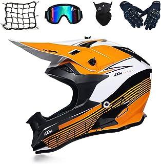 Xixihaha Occhiali protettivi per moto Maschera cross flessibile per casco Maschera da cross Maschera ATV Dirt Bike UTV Occhiali per occhiali