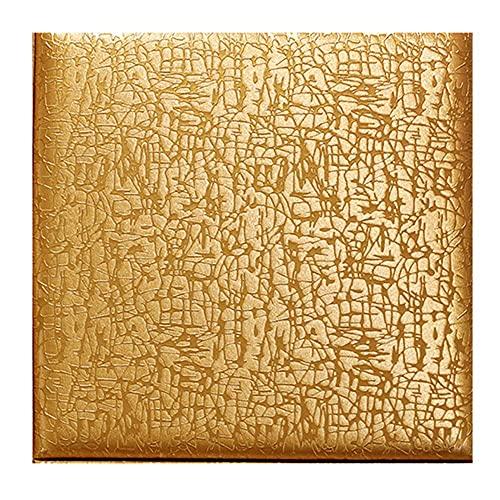 Lebenszubehör 3D Art House Wallpaper/Selbstklebender Anti-Kollisionsschaum-Wandaufkleber für Wohnzimmer/Schlafzimmer/Küche Dekoration Weiß 4PCS