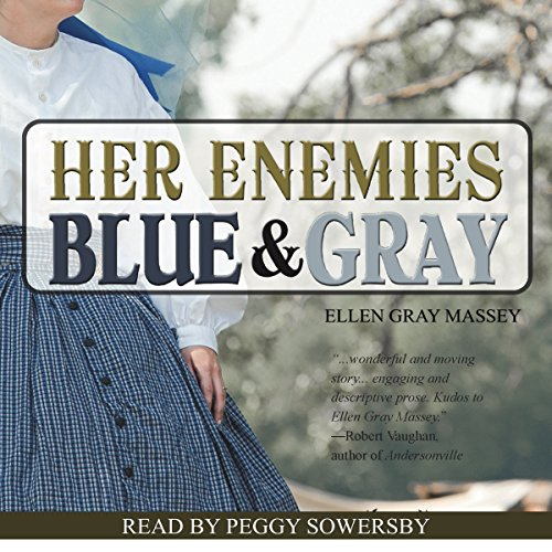 Her Enemies Blue & Gray audiobook cover art