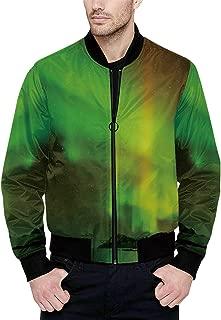 Hitecera Aquarium Funny Bomber Jacket for Boy XS