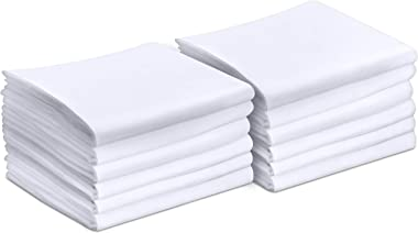 Utopia Bedding Pillowcases - 12 Pack - Bulk Pillowcase Set - Envelope Closure - Soft Brushed Microfiber Fabric- Wrinkle, Shri