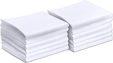 Utopia Bedding Pillowcases - 12 Pack - Bulk Pillowcase Set - Soft Brushed Microfiber Fabric- Wrinkle, Shrinkage and Fade Resi