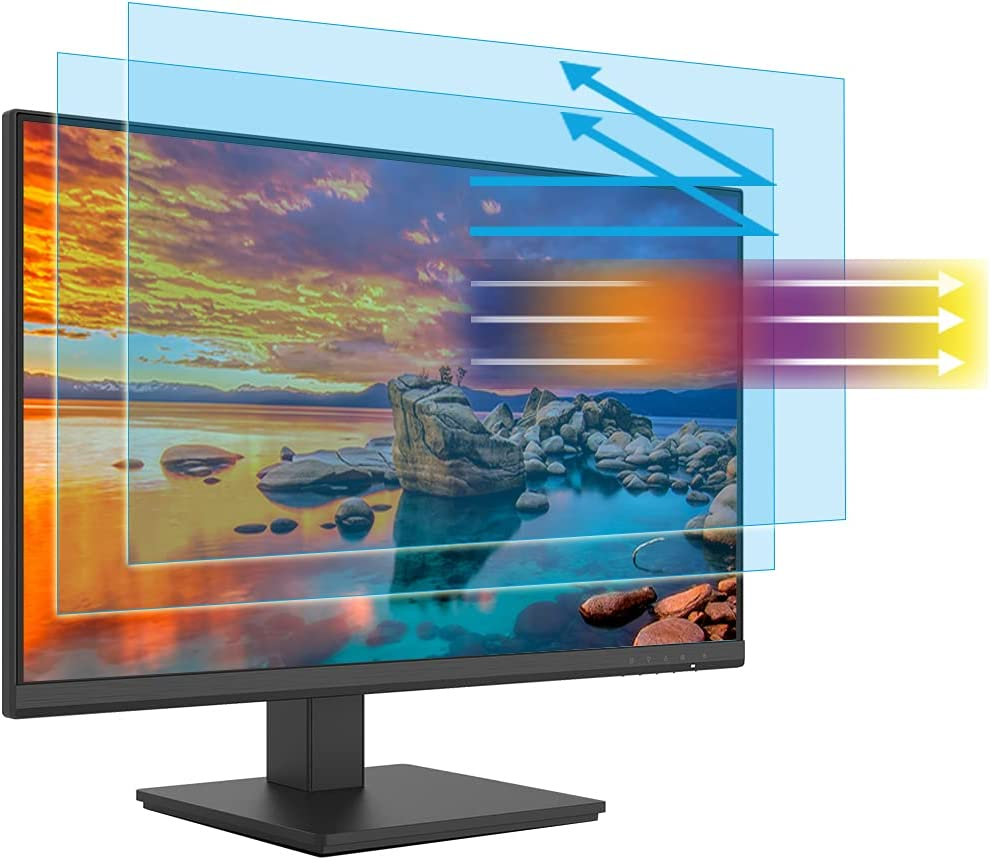 Blue Light Screen Protector 17 inch Monitor (2 Pack) Desktop Monitor 5:4 Widescreen, Reduce Glare Reflection and Eyes Strain, Help Sleep Better (13.3