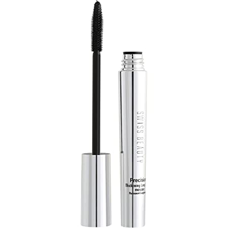 Swiss Beauty Mascara, Eye MakeUp, Black, 10ml