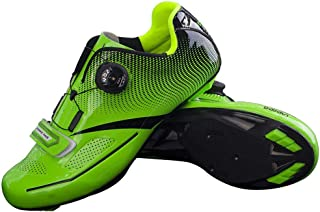 OneChange Road Cycling Shoes Men, Adult Anti-Shock Breathable Bike Shoes Anti-Skid Lock System Spinning Riding Bicycle Sho...
