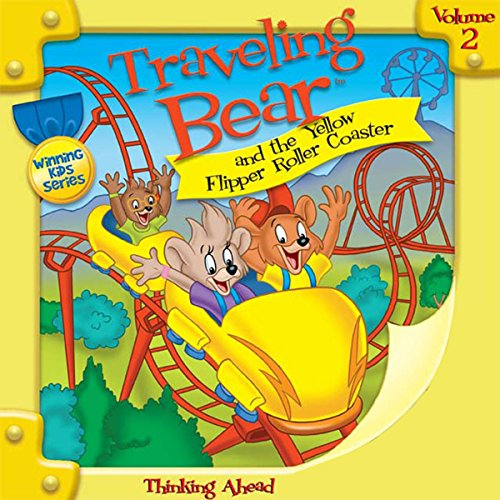 Traveling Bear and the Yellow Flipper Roller Coaster audiobook cover art