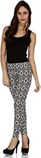 109 F Women Blended Polyester Birch Printed Leggings