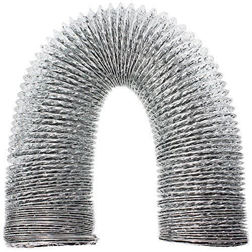 Spares2go aluminium flexibele ventilatieslang uitlaatpijp voor Mitsubishi Airconditioner (4