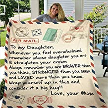 TO OUR DAUGHTER MOM /& DAD MESSAGE BLANKET