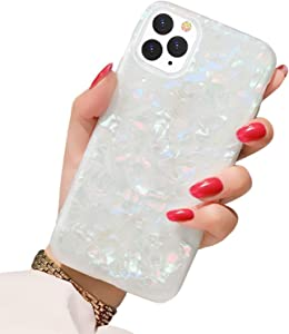 BOFTALE iPhone 11 Pro Max Case 2019, Girls Women Glitter Cute Slim Thin Soft TPU Silicone Clear Bumper Shockproof Protective Phone Case Cover Compatible with iPhone 11 Pro Max 6.5 inch (Colorful)
