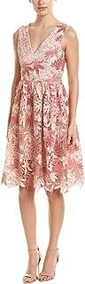 Womens A-Line Dress, M, Pink