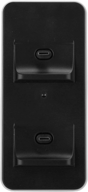 DAUERHAFT Gamepad Cargador Dual TP5‑0504 Cargador Dual Accesorio Máquina de Juego precisa Estable, para Consola de Juegos PS5