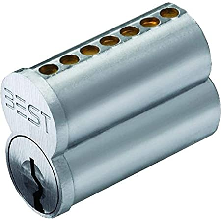 Stanley Best 1c7a1626 Best 1c 7 Pin Uncombinated Core A Keyway Satin Chrome Amazon Com Industrial Scientific