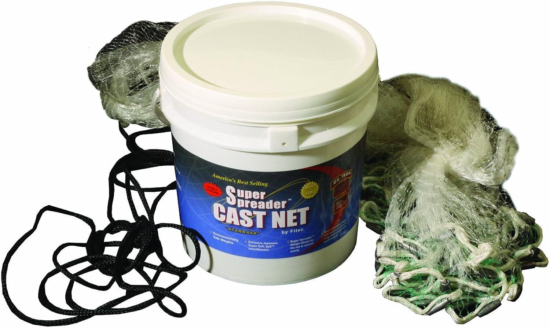 Fitec GS1500 Ultra Spreader Clear Fishing Cast Net