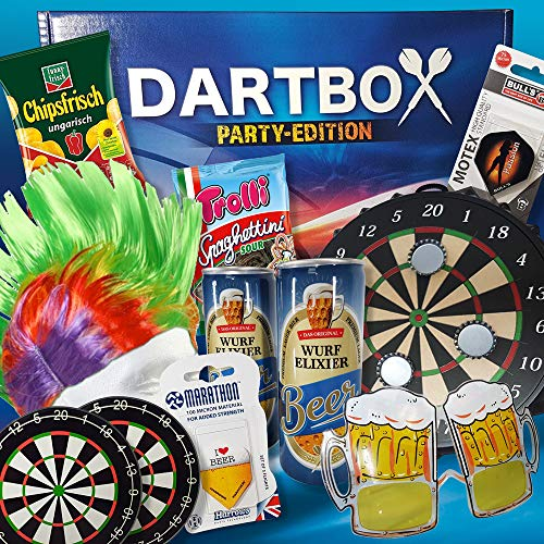 Geschenkbox Darts - Geburtstagsgeschenk Vater, Geburtstagsgeschenk Papa, Geschenk Männer