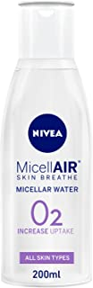 NIVEA, Face Cleanser, MicellAIR, Micellar Water, All-in-1 Makeup Remover, All Skin Types, 200ml