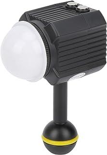 Vattentät Dykfotograferingsfyllningsljus, 60M Undervattenskamera LED-videoljus med Flera Belysningslägen och Automatiskt A...