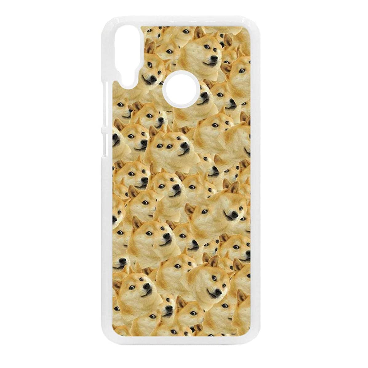 Tyboo for Womon Protective for Huawei Y9(2019) Plastics Phone Shell Have Shiba Inu Dog Doge