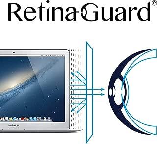 RetinaGuard Macbook Air, Pro 13 Inch Anti Blue Light Screen Protector (Transparent), SGS and Intertek Tested, Blocks Excessive Harmful Blue Light, Reduce Eye Fatigue and Eye Strain