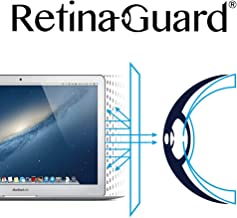 RetinaGuard Macbook Air, Pro 13 Inch Anti Blue Light Screen Protector (Transparent), SGS and Intertek Tested, Blocks Excessive Harmful Blue Light, Reduce Eye Fatigue and Eye Strain
