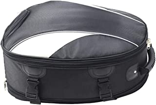 Chitty Motorcycle Tail Package Locomotive Knight Back seat Bag Shoulder Helmet Bag Multi-Function Fuel Tank Bag Waterproof Increase Expandable Durable