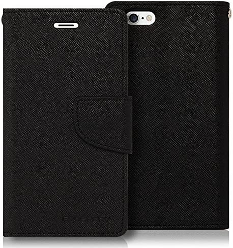 iPhone 6S Plus 6 Plus Case Drop Protection Goospery Fancy Diary Wallet Type PU Saffiano Case product image