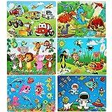 LEADSTAR Puzzle in Legno, Giochi Bambini, 6x60 Pezzi Giocattolo di Puzzle, Educativo Gioca...
