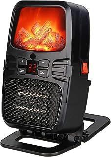 WYXR Calefactor Eléctrico Bajo Consumo, Calefactor Eléctrico Portátil 1000W Mini Termoventiladores Calentador De Cerámica De PTC Protección del Sobrecalentamiento para Hogar, Oficina Y Escritorio