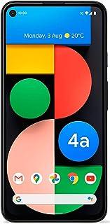 Google Pixel 4a with 5G (2020) G025I 128GB + 6GB RAM Factory Unlocked 5G Smartphone (Just Black) - International Version
