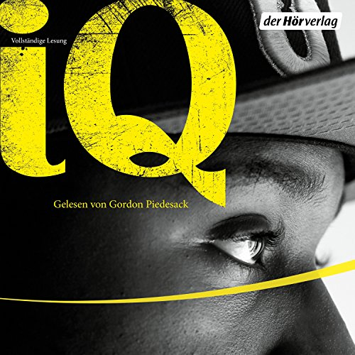 I.Q. audiobook cover art
