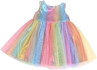 LuDa American Doll Skirt 18 Inch Princess Girl Doll Fashion Clothes Dress Up
