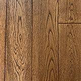 White Oak Prefinished Solid Wood Floor, Sands Peak, Sample, by Hurst Hardwoods