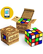 aGreatlife Buttery Smooth 3x3 Speed Cube Turns Quicker More Precise, Durable with Vivid Colors. Pro and Beginners Brain Teaser Magic Cube- Enjoy SpeedCubing with Amazing Cube App Solver