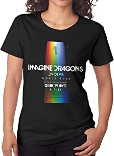 Imagine Dragons Evolve World Tour Women's Fashion Cool T Shirt Gift