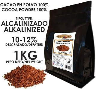 comprar comparacion Cacao Venezuela Delta - Cacao en Polvo Puro 100% · Alcalinizado · Desgrasado 10-12% · 1kg