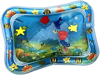 Perfeclan Inflatable Tummy Time Water Play Mat for Infants - Babies Fun Activity Play Center Stimulation Growth, 70 * 50cm