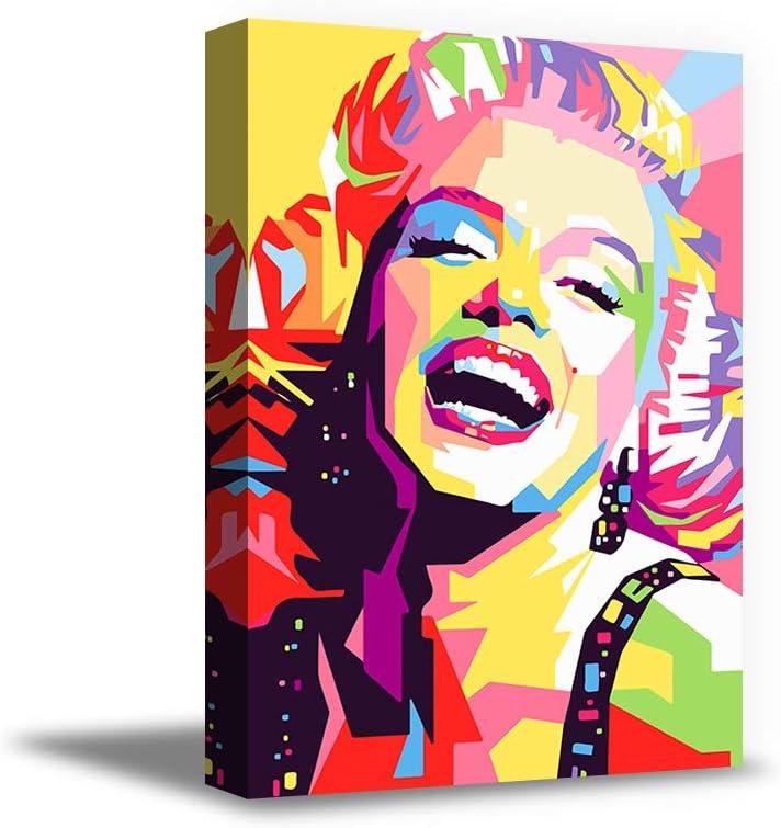 Vizor Marilyn Monroe Wall Decor 割引 Artwork Modern 驚きの値段で Canvas Mo