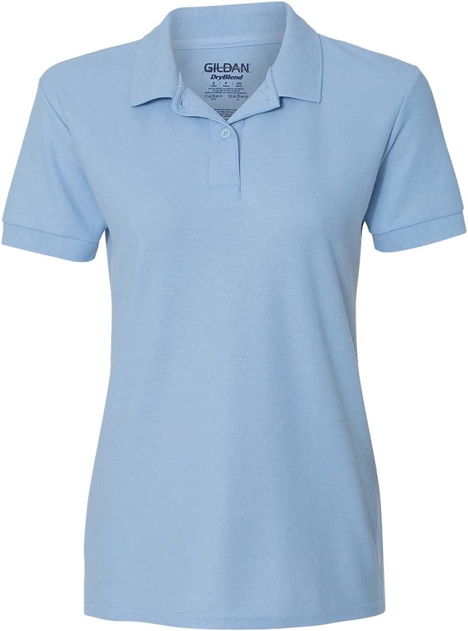 6.3 oz. Double Pique Sport Shirt (G728L) Light Blue, S