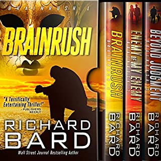 The Brainrush Trilogy: Box Set cover art