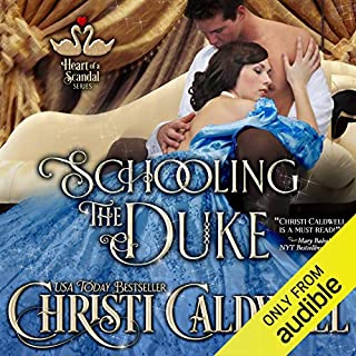 Schooling the Duke audiobook cover art