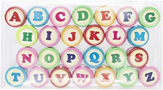 Kid Letter Stamps - Alphabet Rubber Stamps Party Favors, Bag Stuffers, Fun, Toy, Prizes, Stocking Stuffers, Classrooms, Tr...