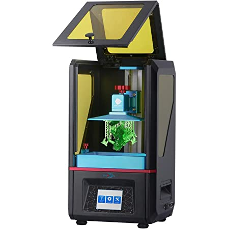 3 idea Imagine Create Print Anycubic Photon UV Photocuring Ultra Precision 2560x1440 2K HD Masking LCD 3D Printer with Smart Touch Color Screen Off-line Print and UK Plug (Basic Accessories)