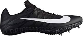 best service abfea 98b99 Nike Zoom Rival S Sprint Track Spikes Shoes Mens Size 7.5 (Black, White)