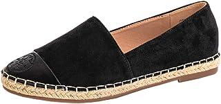 Women's Color Block Espadrilles Casual Flats Classic Slip...