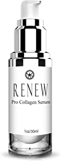 Renew Pro Collagen Serum by Renew Skincare Day/Night Collagen Serum To Enhance Complexion- Deeply Hydrate- Diminish Fine Lines and Wrinkles - Improved Formula