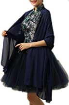 Alivila.Y Fashion Womens Chiffon Bridal Evening Soft Wrap Scarf Shawl