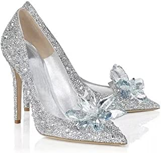 cinderella glass slippers for adults
