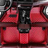 SADGE Alfombrillas a Medida para el automóvil Piel sintética, para Lexus UX UX200 UX250H 2019 Alfombrillas para automóviles Forros Impermeables en la Fila Trasera Delantera del automóvil