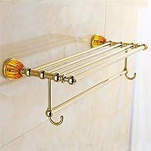 MBYW moderne minimalistische hoge dragende handdoek rek badkamer handdoekenrek Goud amber handdoek rek/badkamer rek/badkam...